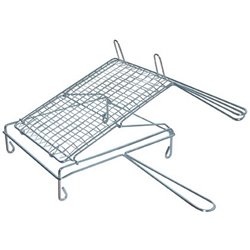 THE GRILL MESH DOUBLE-HINGED CHROMED STEEL CM 40X30