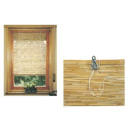 The roller SHUTTER RODS BAMBOO WITH PULLEYS 100 CM H. 260 CM