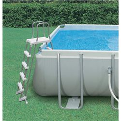 SCALE FOR swimming POOL 28077 INTEX PAINTED GALVANIZED STEEL H. CM.122