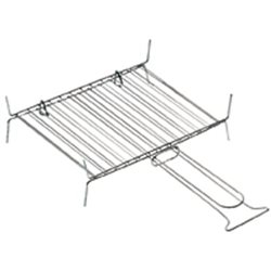 THE GRILL BAR DOUBLE CHROME-PLATED STEEL CM 30X25
