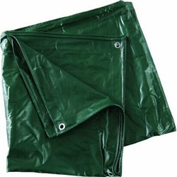 TARPAULIN SHEET WITH REINFORCING EYELETS IN PVC 540 G/SQM WATERPROOF ULTRA-RESISTANT