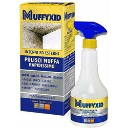 SPRAY ANTIMUFFA MUFFYCID SPRUZZATORE 500 ML PER MACCHIE MUFFA - MUSCHI - ALGHE