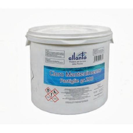 Cloro in pasticche da 200 gr kg 5 per piscina edilacilia for Cloro liquido per piscine