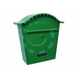 CASSETTA POSTALE PORTARIVISTE SAGOMATA PER ESTERNI VERDE cm.36X13x36h. colore verde