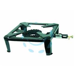 FORNELLONE GAS CON RUBINETTO cm.40x40x17h. - Pezzi 2