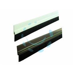 PARASPIFFERI RIGIDO PER PORTE cm.100 colore marrone - Pezzi 10
