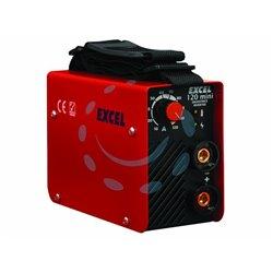 SALDATRICE ELETTRICA INVERTER 120 MINI mm.210x90x145h. peso kg.2.4