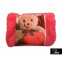 BAG WATER HOT ELECTRIC HAND WARMER TEDDY BEAR WITH A POCKET FOR HANDS