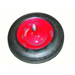 RUOTA PNEUMATICA PER CARRIOLE COMUNI PERNO MM.12X210 perno mm.12x210, interasse mm.150