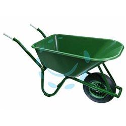 CARRIOLA PER AGRICOLTURA LT.100 vasca in polipropilene verde lt.100