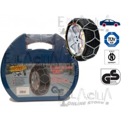 "SNOW CHAINS APPROVED QUICK-MOUNT Measuring 130 CIRCLE 15"" 16"" 17"" 18"" 19"""