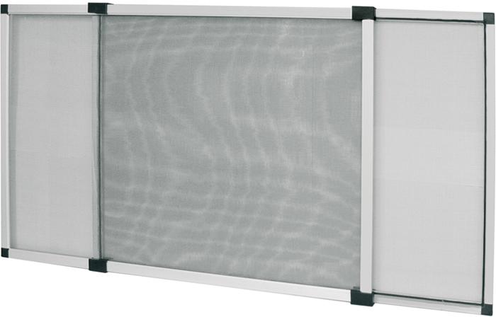 Zanzariera telaio estensibile alluminio tapparella for Zanzariera porta finestra
