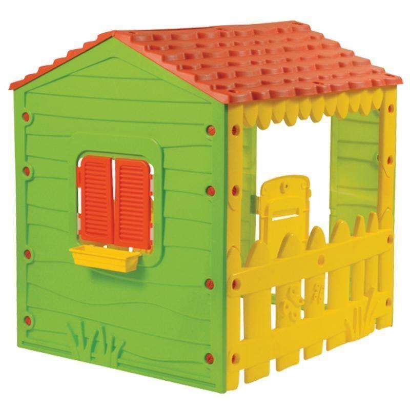 Casetta Casa Gioco Bambini In Resina Da Giardino Farm